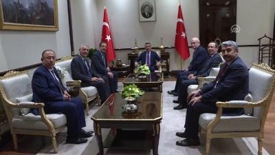 Cumhurbaşkanı Yardımcısı Oktay, TESKOMB heyetini kabul etti - ANKARA