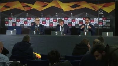 Fenerbahçe-Anderlecht maçının ardından - Erwin Koeman (1) - İSTANBUL