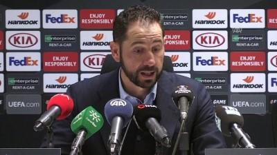 Akhisarspor-Sevilla maçının ardından - Sevilla Teknik Direktörü Machin - MANİSA