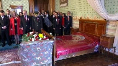 10 Kasım Atatürk Anma günü - Atatürk'ün yatağı başında anma (2) - İSTANBUL