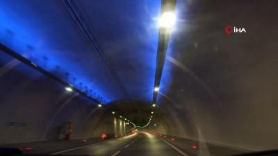 Avrasya Tüneli'nde 9'u 5 geçe Ata'ya saygı duruşu