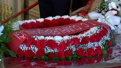 10 Kasım Atatürk Anma günü - Atatürk'ün yatağı başında anma (4) - İSTANBUL