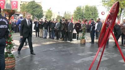 Gaziantep'te 10 Kasım Atatürk'ü Ama törenine asker damgası