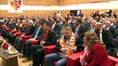 Kayserispor'da Erol Bedir yeniden başkan seçildi