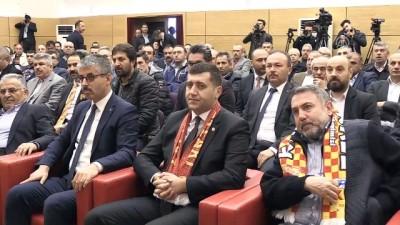 Kayserispor Kulübü Başkanı Erol Bedir, güven tazeledi - KAYSERİ