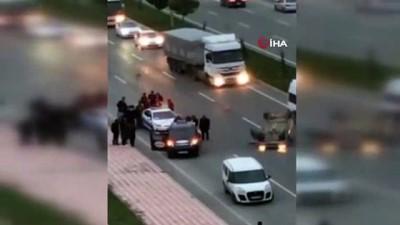 Batman'da otomobilin ters döndüğü kazada 1 kişi yaralandı