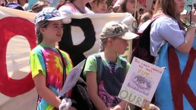 Avustralyalı öğrencilerden çevre eylemi - MELBOURNE
