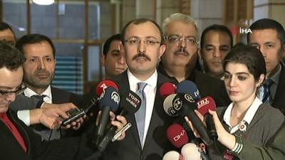 AK Parti Grup Başkanvekili Mehmet Muş: 'TBMM Başkanlığı'na kanun teklifi verdik. 71 maddeden oluşan bu kanun teklifimiz çeşitli alanlarda ihtiyaç duyulan düzenlemeler içermekte'