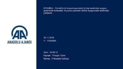 Pendik'te soygun girişimi - İSTANBUL