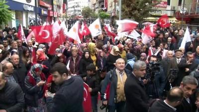 AK Parti Belediye Başkanı Adayı Uysal'a coşkulu karşılama
