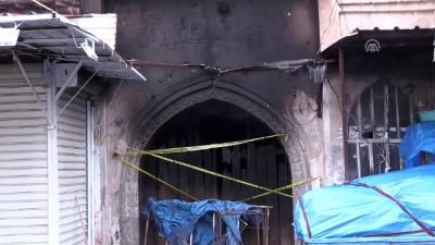 Büyükelçi Yıldız yanan Osmanlı çarşısında incelemelerde bulundu - KERKÜK