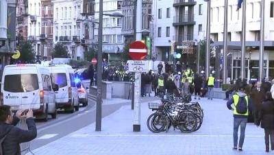 'Sarı yelekliler'in protestosu Belçika'ya sıçradı (3) - BRÜKSEL