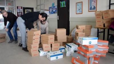 Engellilerden 2 bin 600 rakımdaki köy okuluna yardım - AĞRI