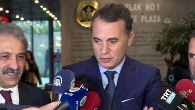 Fikret Orman: 'Yapılan metnin herkes yüzde yüz arkasındadır' - İSTANBUL