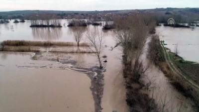Ergene Nehri'nin debisinin yükselmesi - KIRKLARELİ