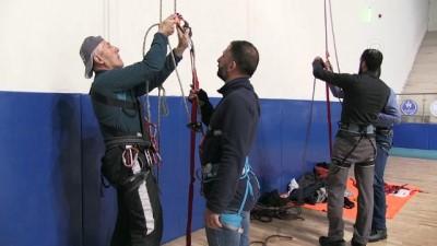 Hakkari'de 'tırmanış eğitimi'
