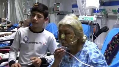 'Kahraman çocuk'tan yangından kurtardığı yaşlı kadına ziyaret - AYDIN