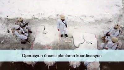 MSB komandoların karlı dağlarda yaptığı operasyonun videosunu paylaştı