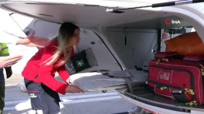 32 milyonluk ambulans helikopteri tanıtıldı