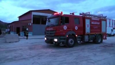 Kırıkkale'de akaryakıt numune deposunda patlama: 1 ölü