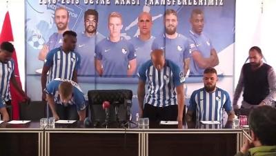 Büyükşehir Belediye Erzurumspor 6 futbolcuyla sözleşme imzaladı - ERZURUM