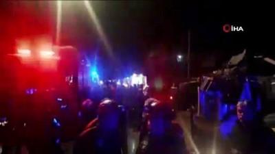 Adana'nın Yüreğir ilçesinde meydana gelen kazada ölü ve çok sayıda yaralı olduğu bildirildi. Bölgeye çok sayıda sağlık, itfaiye ve AFAD ekipleri sevk edildi.
