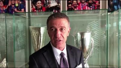 Trabzonspor Başkanı Ağaoğlu'ndan UEFA açıklaması - NYON
