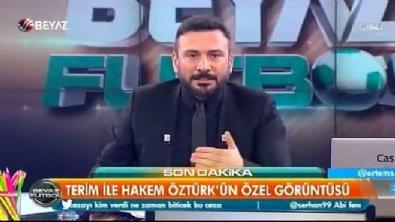 Ümit Öztürk'ün tartışılan görüntüsü