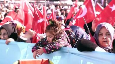 Cumhurbaşkanı Erdoğan: 'Cumhur İttifakı ile bu yolda yürüyoruz ve yürüyeceğiz' - ANKARA
