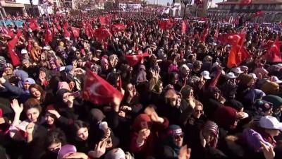 Cumhurbaşkanı Erdoğan: '(CHP) Asıl büyük ittifakı bölücü örgütün güdümündeki parti ile yaptılar' - ANKARA