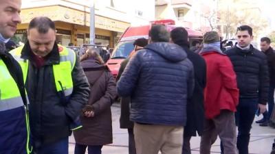 Kartal Belediye Başkanı Altınok Öz enkaz alanını gezdi - İSTANBUL