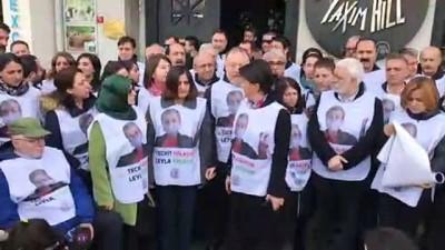 HDP'lilerin yürüyüşüne izin verilmedi - İSTANBUL