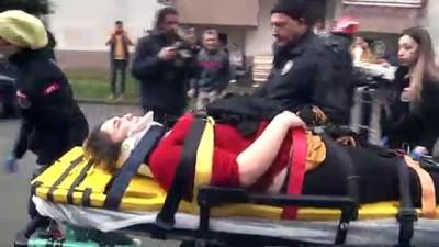 Apartmanın 4. katından düşen kadın yaralandı - SAKARYA
