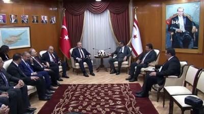 - TBMM Başkanı Şentop, KKTC Başbakanı Erhürman İle Görüştü