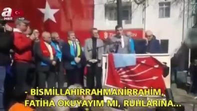 CHP Edremit adayı Fatiha ile dalga geçti