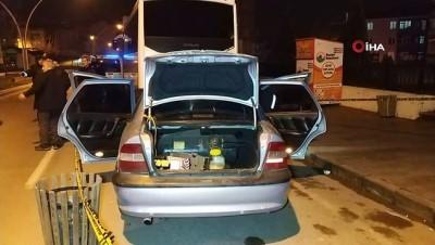 Cami çıkışı otomobilin çarptığı yaşlı adam hayatını kaybetti... O anlar kamerada