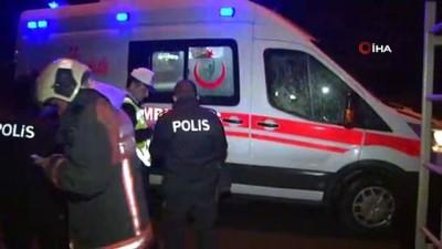 Başkent'te EGO otobüsü devrildi: 1 yaralı