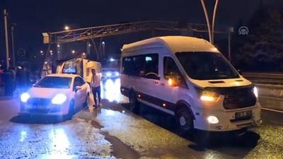 MOBESE direğine çarpan EGO otobüsü devrildi - ANKARA