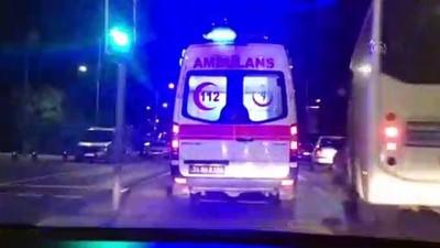 Üsküdar'da trafik kazası: 2 yaralı - İSTANBUL