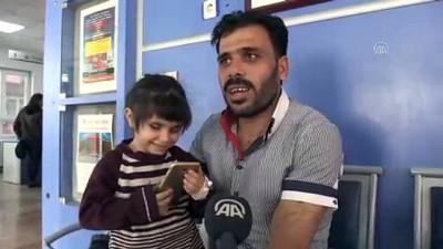 Suriyeli küçük Sidra'ya Türk hekimler ışık oldu - HATAY