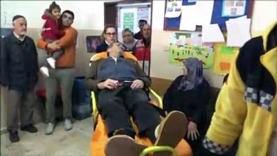 Kalp hastası vatandaş oyunu sağlık ekiplerinin desteğiyle kullandı - İSTANBUL