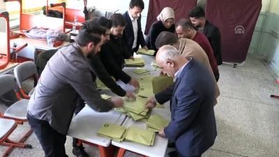 Oy sayım işlemi başladı - SİİRT