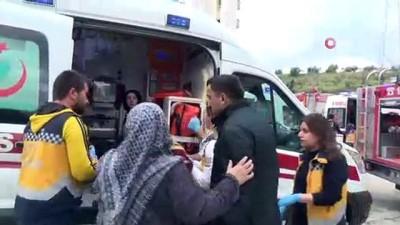 Apartmanın elektrik panosu yandı...Dumandan etkilenen 8 kişi hastanelik oldu