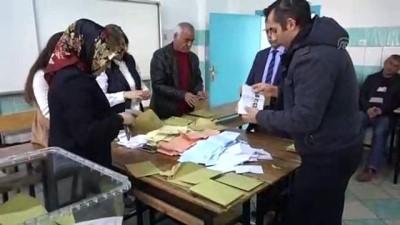 Oy sayım işlemi başladı - KIRIKKALE
