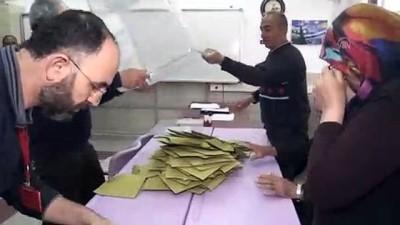 Oy sayım işlemi - NEVŞEHİR