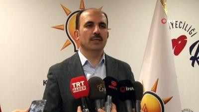 AK Parti Konya Büyükşehir Belediye Başkan adayı Uğur İbrahim Altay açıklama yaptı