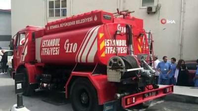 İstanbul Üniversitesi Cerrahpaşa Tıp Fakültesi Hastanesi'nde yangın paniği