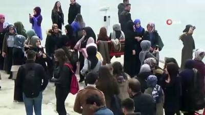 Demirözü Barajında 'Turizm Haftası' bereketi