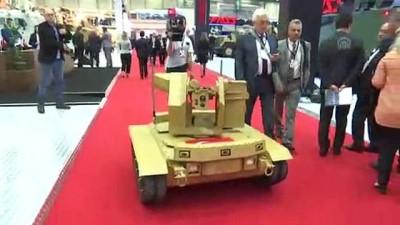 İnsansız kara aracı 'Fedai' görev bekliyor - İSTANBUL
