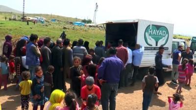 Belçika'da yaşayan Müslümanlardan Suriyelilere ramazan yardımı - HATAY